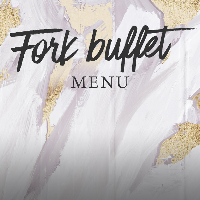 Fork buffet menu at The Old Cottage