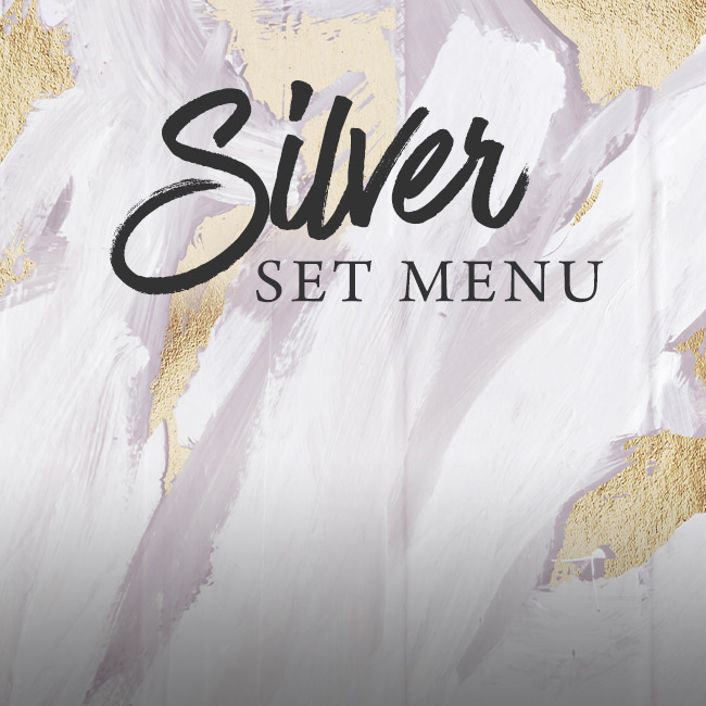 Silver set menu at The Old Cottage