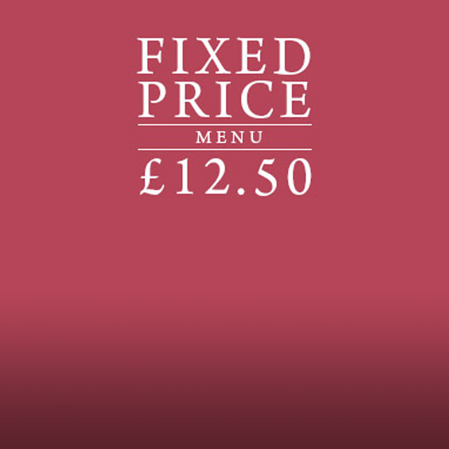 Fixed Price Menu at The Old Cottage
