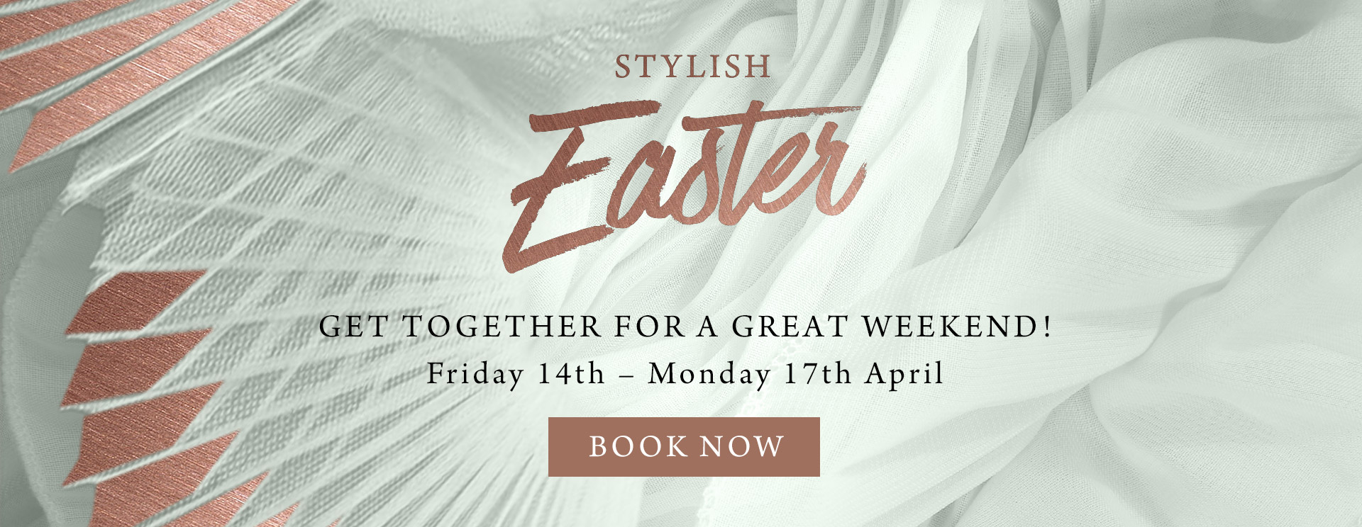 Stylish Easter at The Old Cottage - Book now