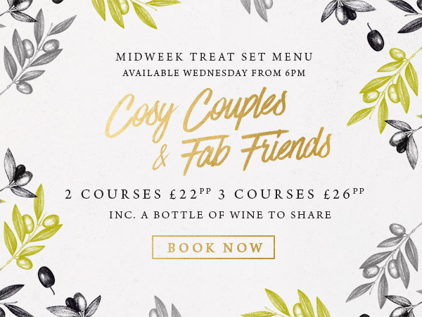 Midweek treat at The Old Cottage - Book now